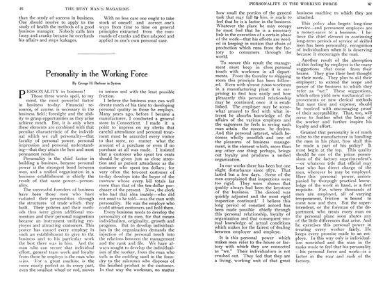 Article Preview: Personality in the Working Force, October 1907 | Maclean's