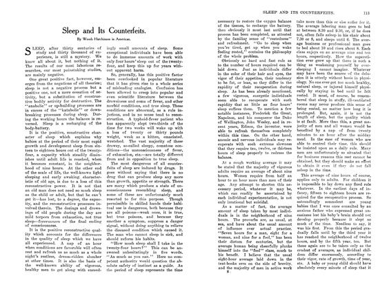 Article Preview: Sleep and Its Counterfeits., October 1907 | Maclean's