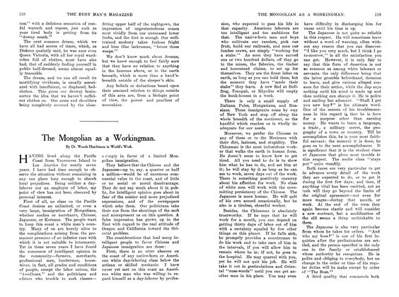 Article Preview: The Mongolian as a Workingman., October 1907 | Maclean's