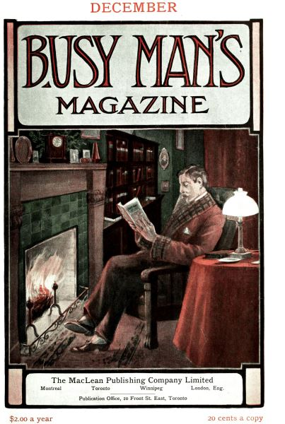 Issue: - December 1907 | Maclean's