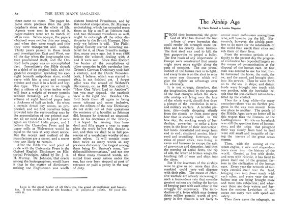 Article Preview: The Airship Age, December 1907 | Maclean's