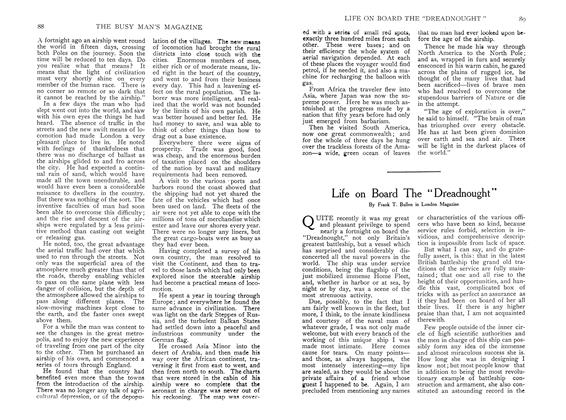 "Article Preview: Life on Board The ""Dreadnought"", December 1907 