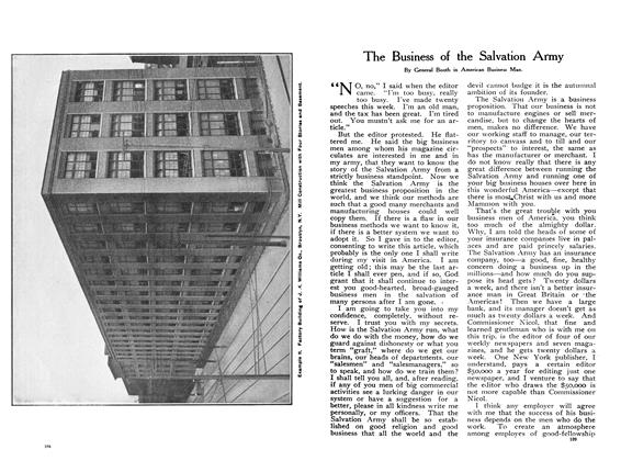 Article Preview: The Business of the Salvation Army, January 1908 | Maclean's