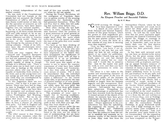 Article Preview: Rev. William Briggs, D.D., January 1908 | Maclean's