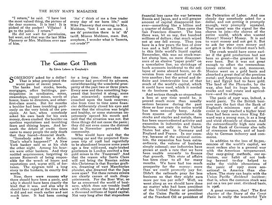 Article Preview: The Game Got Them, February 1908 | Maclean's