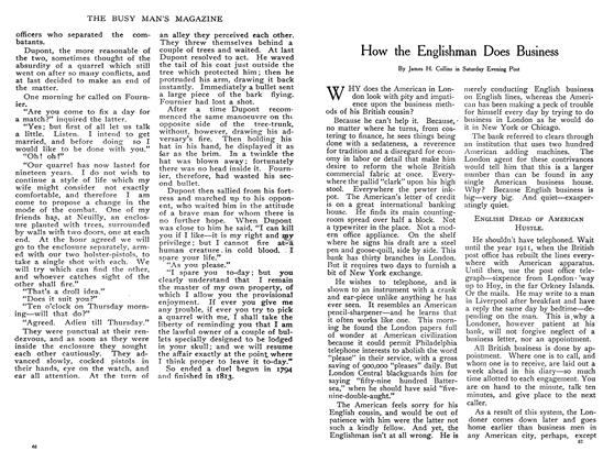 Article Preview: How the Englishman Does Business, February 1908 | Maclean's