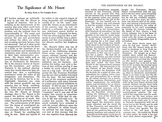 Article Preview: The Significance of Mr. Hearst, February 1908 | Maclean's