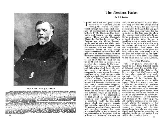 Article Preview: The Northern Packet, February 1908 | Maclean's