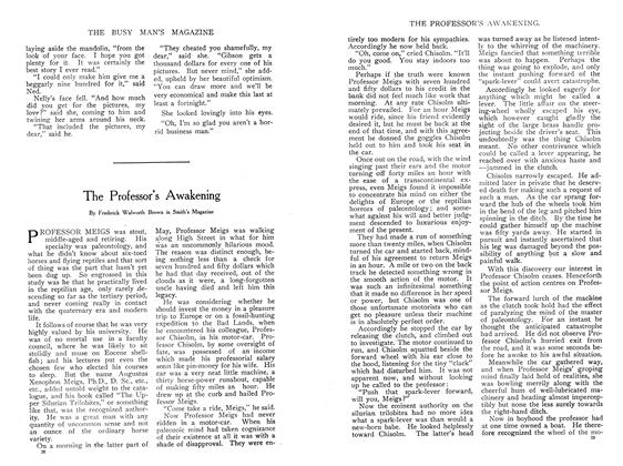 Article Preview: The Professor's Awakening, April 1908 | Maclean's
