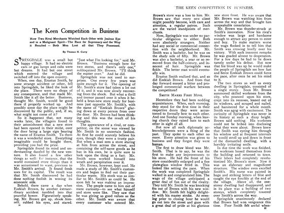 Article Preview: The Keen Competition in Business, May 1908   Maclean's