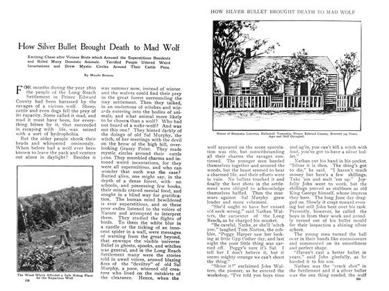 Article Preview: How Silver Bullet Brought Death to Mad Wolf, May 1908 | Maclean's