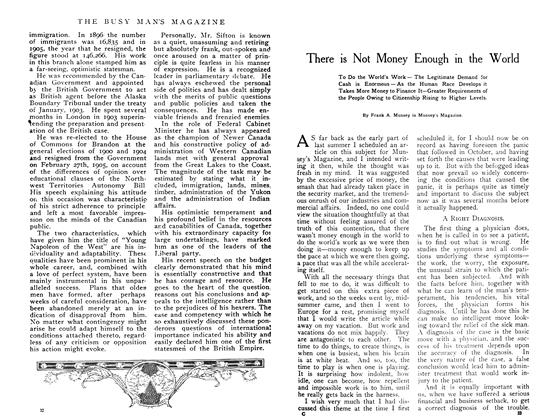 Article Preview: There is Not Money Enough in the World, June 1908 | Maclean's