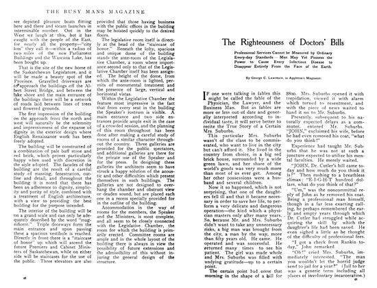 Article Preview: The Righteousness of Doctors' Bills, June 1908 | Maclean's