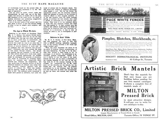 Article Preview: Believes in Boys' Clubs., June 1908 | Maclean's