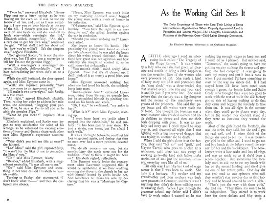 Article Preview: As the Working Girl Sees It, July 1908 | Maclean's