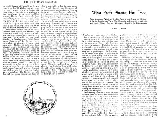 Article Preview: What Profit Sharing Has Done, July 1908 | Maclean's
