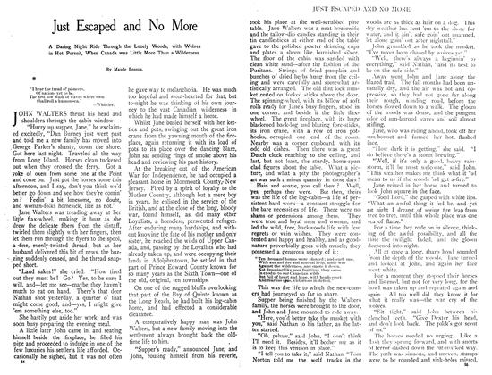 Article Preview: Just Escaped and No More, July 1908 | Maclean's