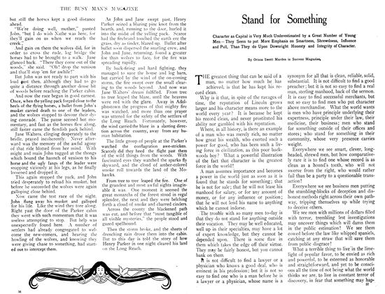 Article Preview: Stand for Something, July 1908 | Maclean's