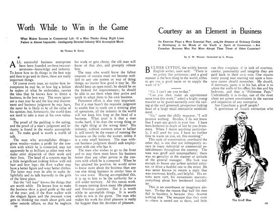 Article Preview: Worth While to Win in the Game, July 1908 | Maclean's
