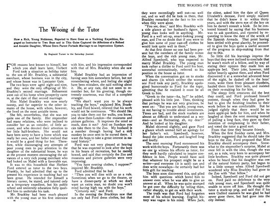 Article Preview: The Wooing of the Tutor, August 1908 | Maclean's