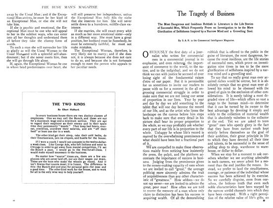 Article Preview: THE TWO KINDS, August 1908   Maclean's