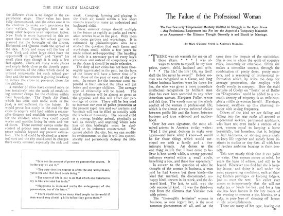 Article Preview: The Failure of the Professional Woman, September 1908 | Maclean's