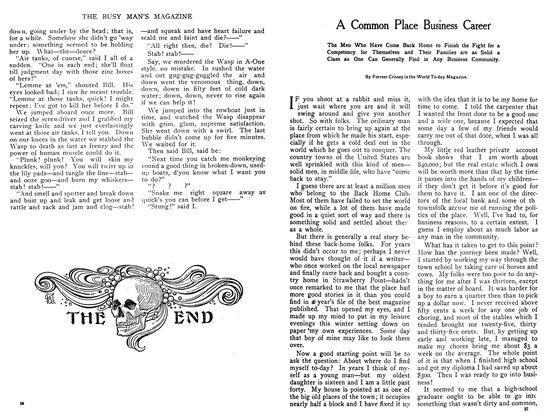 Article Preview: A Common Place Business Career, October 1908 | Maclean's