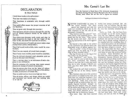 Article Preview: DECLARATION, October 1908 | Maclean's
