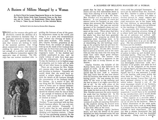 Article Preview: A Business of Millions Managed by a Woman, October 1908 | Maclean's