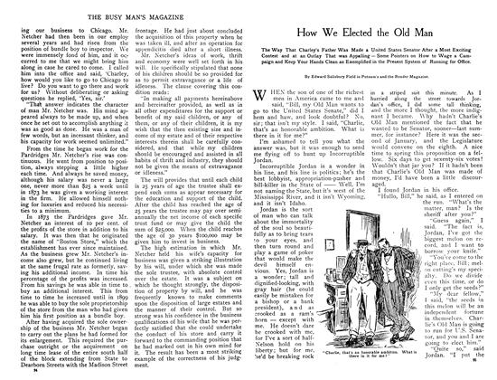 Article Preview: How We Elected the Old Man, October 1908 | Maclean's