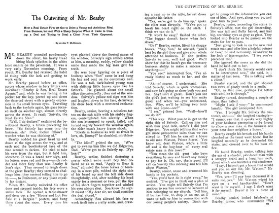 Article Preview: The Outwitting of Mr. Bearby, October 1908 | Maclean's