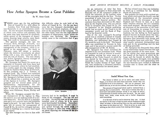Article Preview: How Arthur Spurgeon Became a Great Publisher, November 1908 | Maclean's