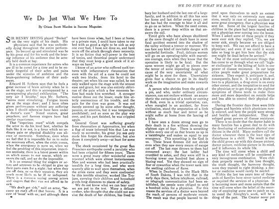 Article Preview: We Do Just What We Have To, November 1908 | Maclean's
