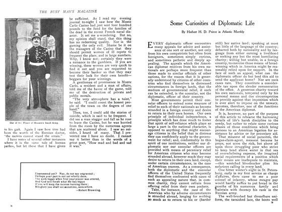 Article Preview: Some Curiosities of Diplomatic Life, November 1908 | Maclean's
