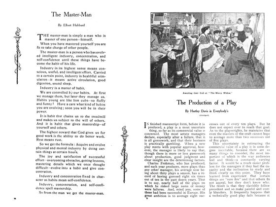 Article Preview: The Master-Man, November 1908 | Maclean's