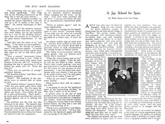 Article Preview: A Jap School for Spies, November 1908 | Maclean's