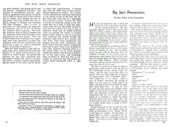Article Preview: Big Jim's Renunciation, November 1908 | Maclean's