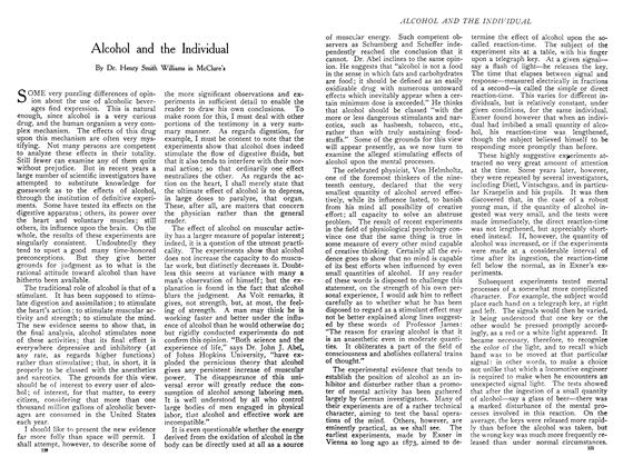Article Preview: Alcohol and the Individual, November 1908 | Maclean's
