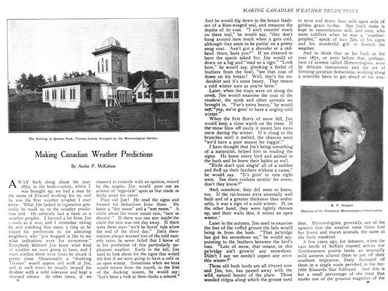 Article Preview: Making Canadian Weather Predictions, November 1908 | Maclean's