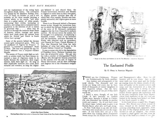 Article Preview: The Enchanted Profile, December 1908 | Maclean's