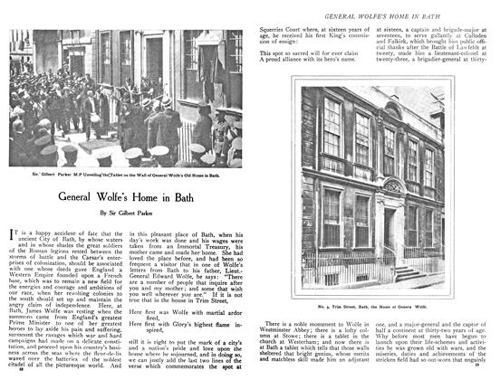 Article Preview: General Wolfe's Home in Bath, December 1908 | Maclean's