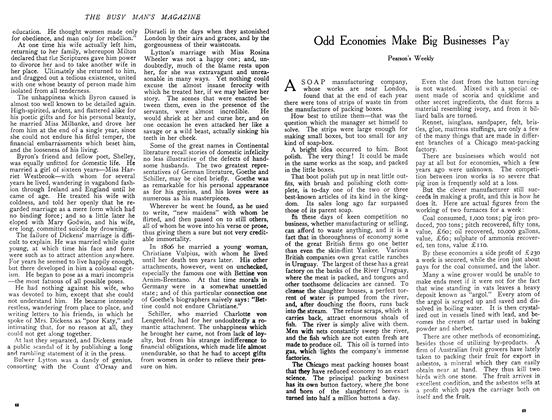 Article Preview: Odd Economies Make Big Businesses Pay, December 1908   Maclean's