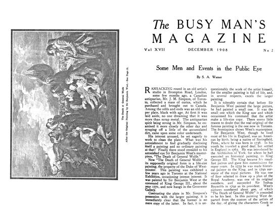 Article Preview: Some Men and Events in the Public Eye, December 1908 | Maclean's