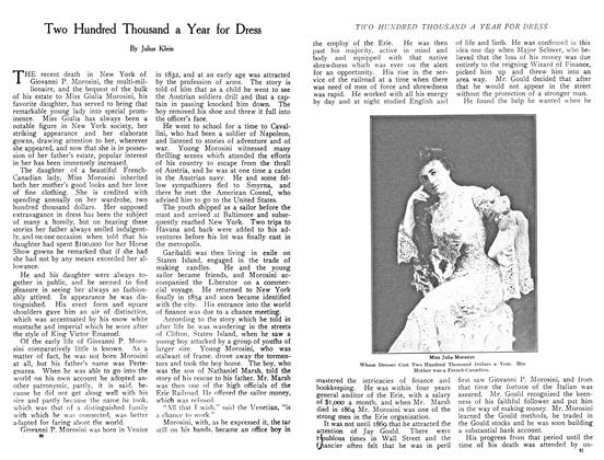 Article Preview: Two Hundred Thousand a Year for Dress, December 1908 | Maclean's