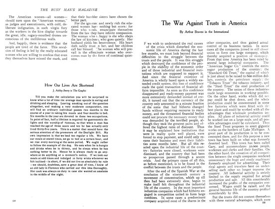 Article Preview: The War Against Trusts in America, December 1908 | Maclean's