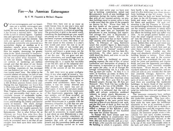 Article Preview: Fire—An American Extravagance, December 1908 | Maclean's