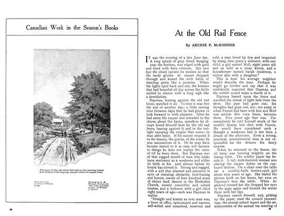 Article Preview: At the Old Rail Fence, January 1909 | Maclean's