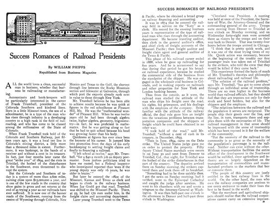 Article Preview: Success Romances of Railroad Presidents, January 1909 | Maclean's