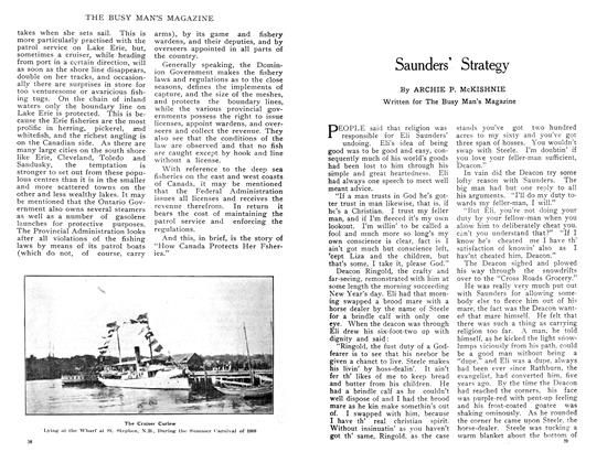 Article Preview: Saunders' Strategy, February 1909 | Maclean's
