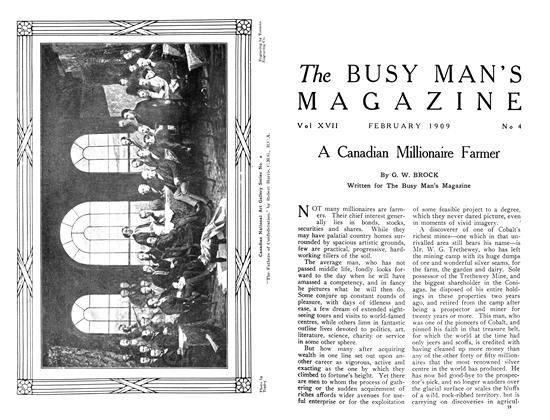 Article Preview: A Canadian Millionaire Farmer, February 1909 | Maclean's